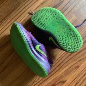 Nike Purple and Green Size 9C